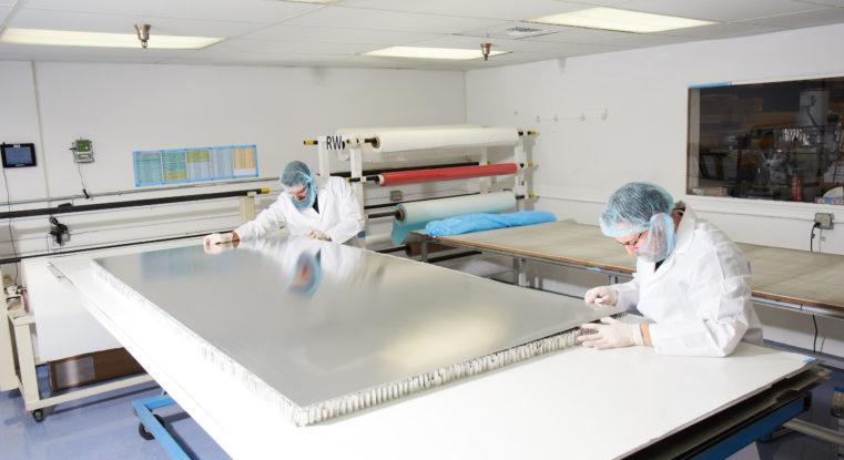 Commercial Honeycomb Panels - Aerospace Sandwich Panels